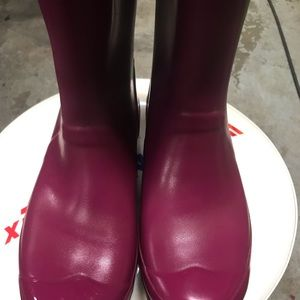 Purple huntress boots